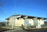 25/10/1997, la sede con due tralicci per antenne